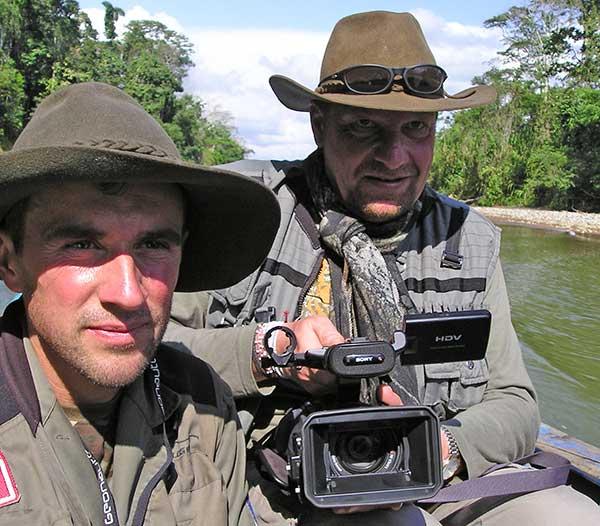 Incamazonia, first documentary of Jungle Doc