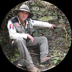 Thierry Jamin, explorer and founder of Jungle Doc