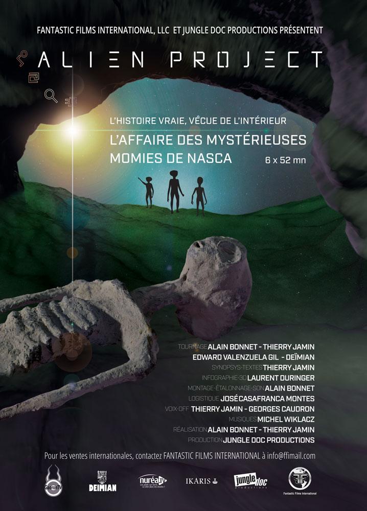 Alien Project - L'affaire des mystérieuses momies de Nasca