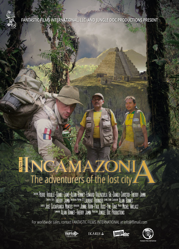 Incamazonia 1 - The adventurers of the lost city