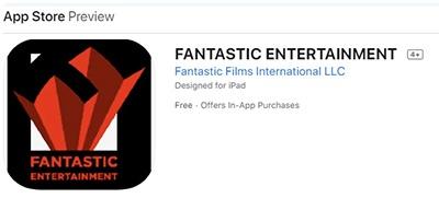 Fantastic Entertainment en la Apple Store