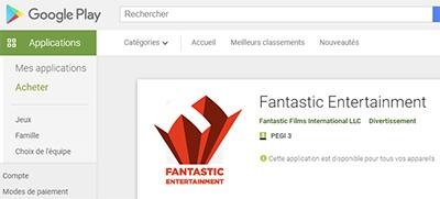 Fantastic Entertainment en Google Play